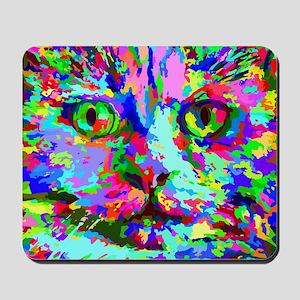 Pop Art Kitten Mousepad