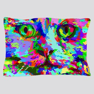 Pop Art Kitten Pillow Case