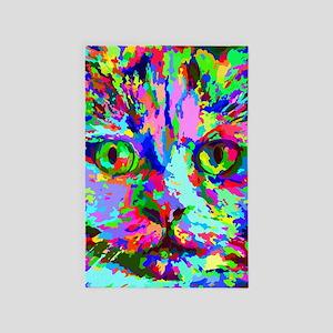 Pop Art Kitten 4' x 6' Rug