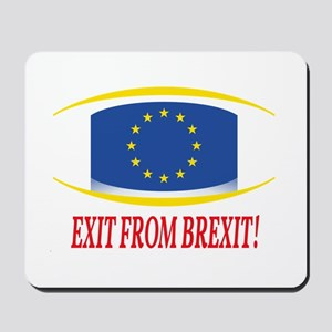 EXIT FROM BREXIT Mousepad