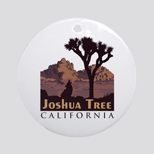 Joshua Tree Round Ornament