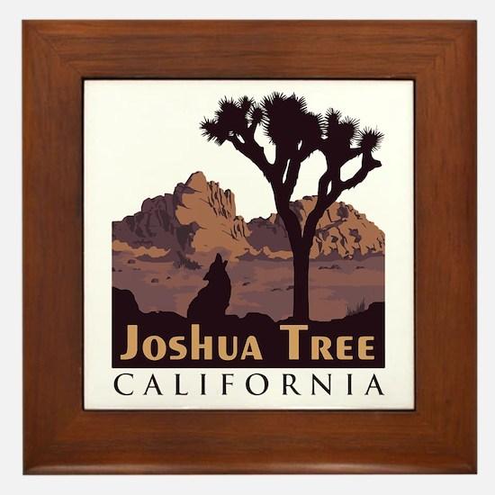 Joshua Tree National Park. Framed Tile