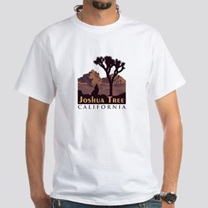 Joshua Tree National Park. White T-Shirt