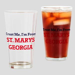 Trust Me, I'm from St. Marys Georgi Drinking Glass