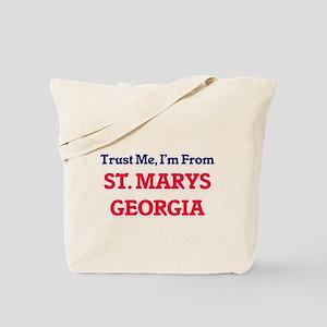 Trust Me, I'm from St. Marys Georgia Tote Bag