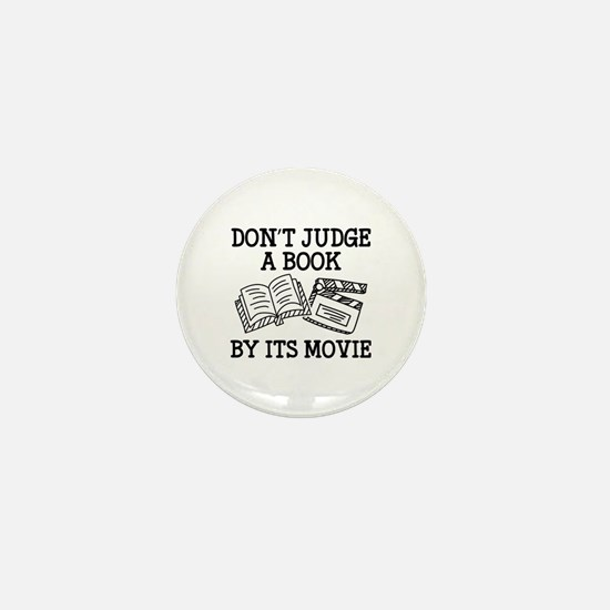 Don't Judge A Book By Its Movie Mini Button