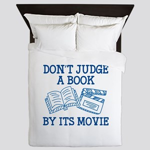 Don't Judge A Book By Its Movie Queen Duvet