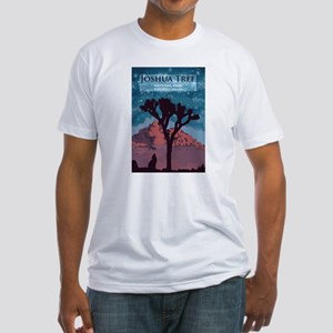 Joshua Tree National Park. Fitted T-Shirt