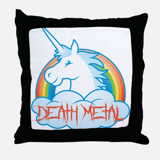 Funny Emo Throw Pillow