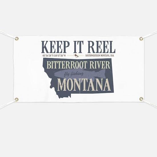 Fly Fishing Shirt Trout Montana Banner