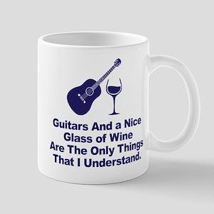 Guitars and Wine Understanding Mugs