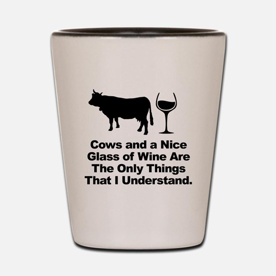 Unique Cow design Shot Glass