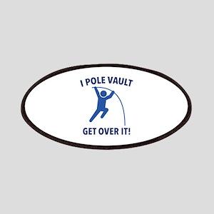 I Pole Vault Patches
