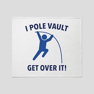 I Pole Vault Stadium Blanket