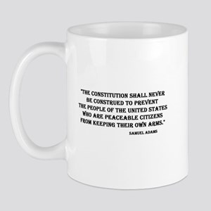 Peaceable Citizens Mug