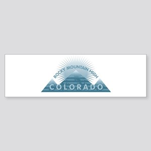 Colorado - Rocky Mountain High Bumper Sticker