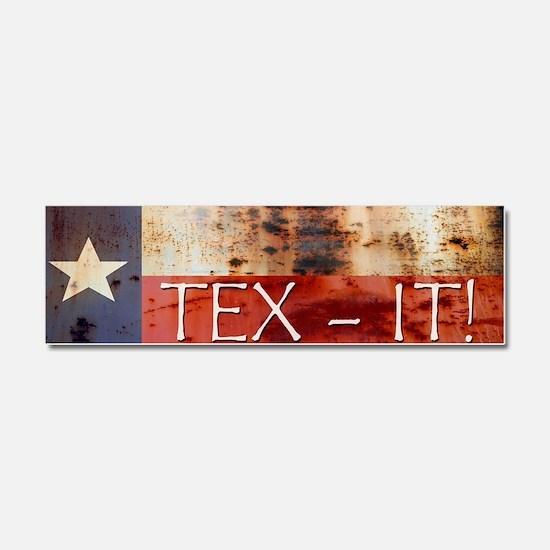 Cool Texas secede Car Magnet 10 x 3