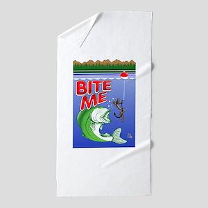 Bite Me Beach Towel