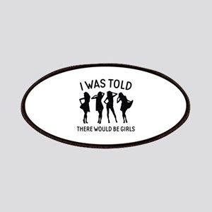 There Would Be Girls Patches
