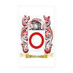 Wittkowsky Sticker (Rectangle 50 pk)