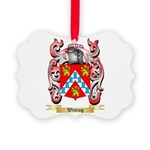 Witting Picture Ornament