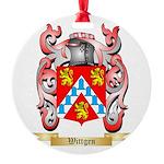 Wittgen Round Ornament