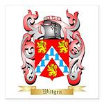 Wittgen Square Car Magnet 3