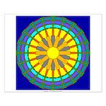 Sun Web Small Poster