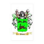 Witten Sticker (Rectangle 10 pk)
