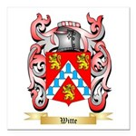 Witte Square Car Magnet 3