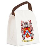 Witte Canvas Lunch Bag