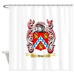 Witte Shower Curtain