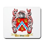 Witte Mousepad