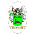 Witt Sticker (Oval 50 pk)