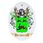 Witt Oval Ornament