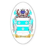 Witney Sticker (Oval 50 pk)
