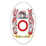 Witkowski Sticker (Oval 10 pk)