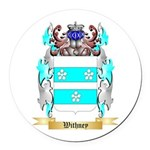 Withney Round Car Magnet