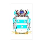 Withney Sticker (Rectangle 10 pk)