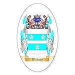 Withney Sticker (Oval 50 pk)
