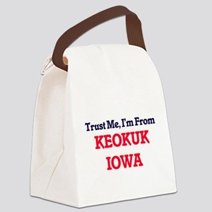Trust Me, I'm from Keokuk Iowa Canvas Lunch Bag