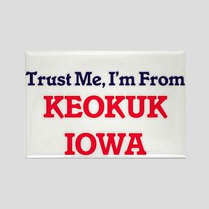 Trust Me, I'm from Keokuk Iowa Magnets