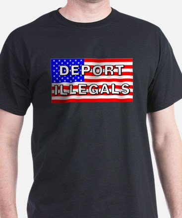Deport Illegals T-Shirt