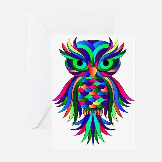 Owl Design Greeting Cards