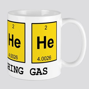 Laughing Gas Element Pun Mugs