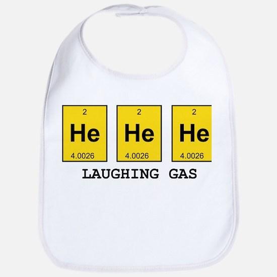 Laughing Gas Element Pun Bib