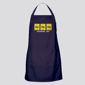 Laughing Gas Element Pun Apron (dark)