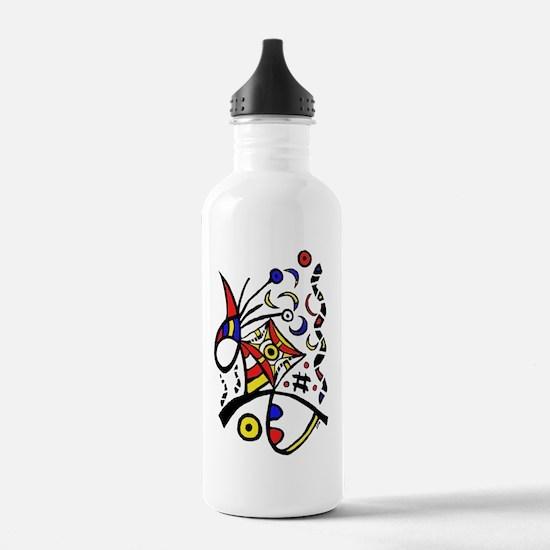 Cool Organic Sports Water Bottle