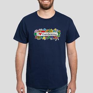 I Heart Gardening Dark T-Shirt