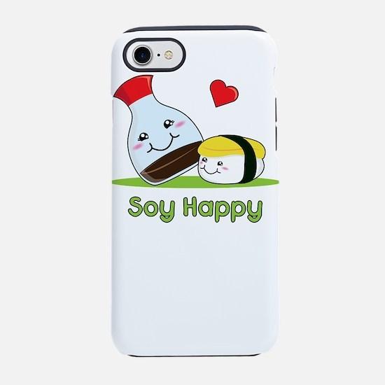 Soy Happy Sushi Kawaii Japan iPhone 8/7 Tough Case